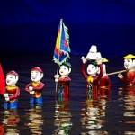 Spectacle de Marionnettes sur l'eau