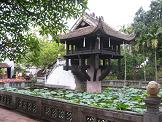 pagode au pilier unique - vietnam
